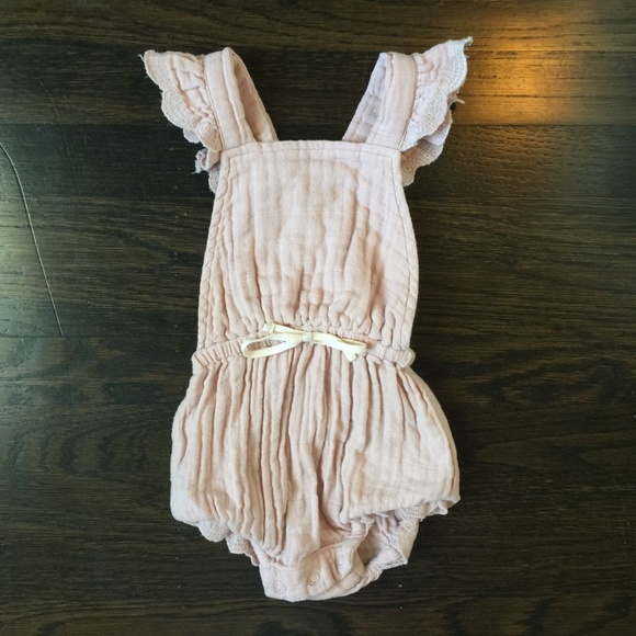 0cc77bc327 Jamie Kay Other - Organic Jamie Kay Indie Playsuit in Rose Smoke